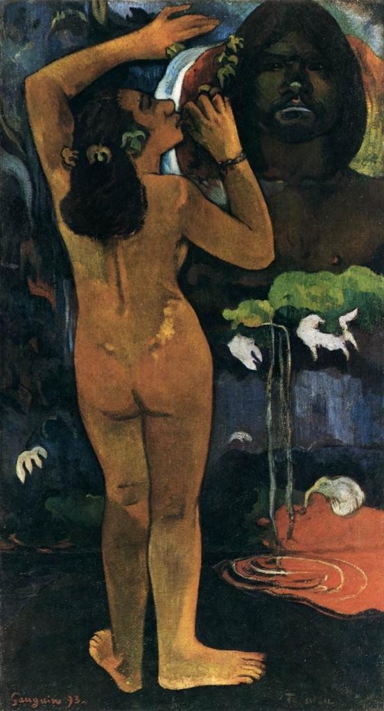 Hina te Fatou (The Moon and the Earth), 1893