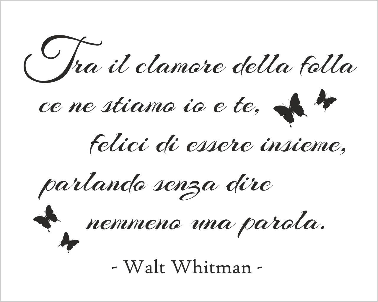 Molto Walt Withman, biografia, poesie e citazioni SP21