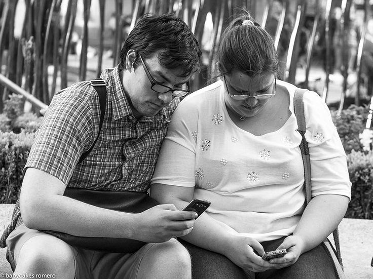 La morte della conversazione? Fotografia di Babycake Romero