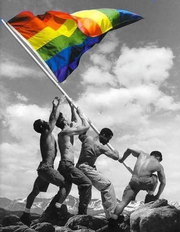 Bandiera gay, storia e significato