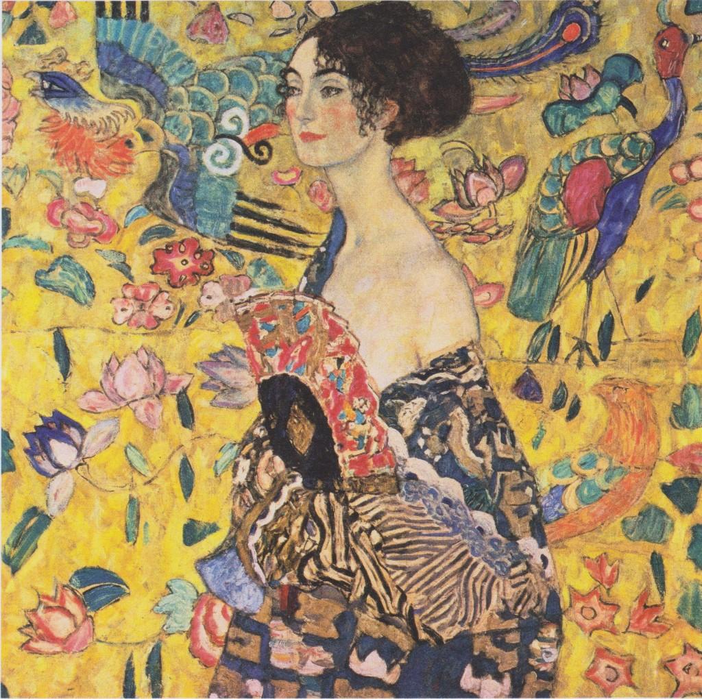 """""""Donna con ventaglio"""", 1918."""