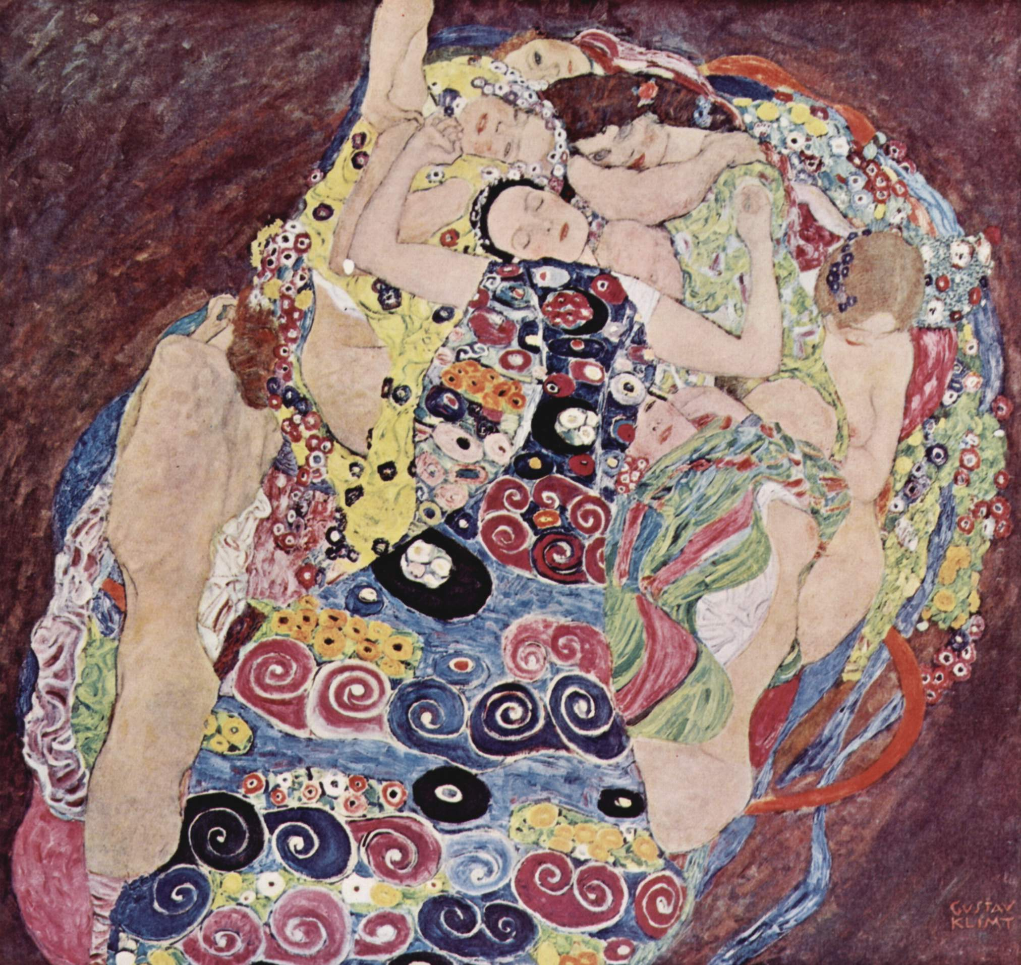 Gustav Klimt Biografia Stile Opere