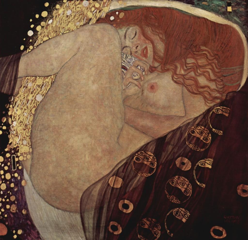 """""""Danae"""", 1908."""