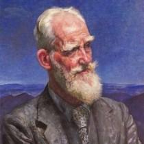 Ritratto di George Bernard Shaw di Laura Knight.