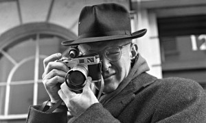 Henri Cartier-Bresson's 1957 Leica selfie