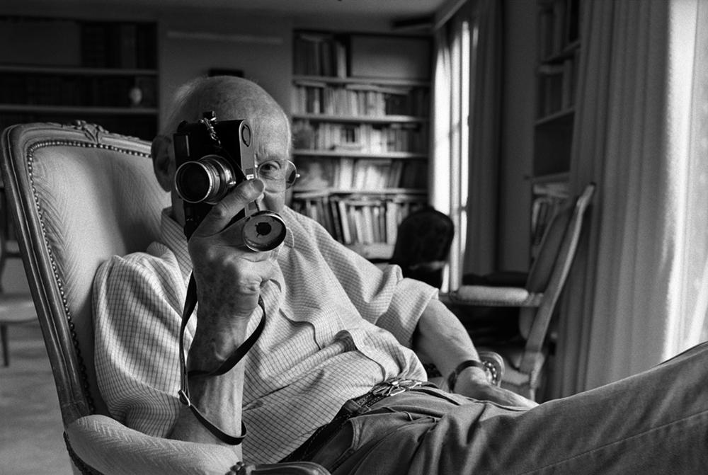 """Henri Cartier-Bresson """"Pen, Brush and Camera"""" 1998."""