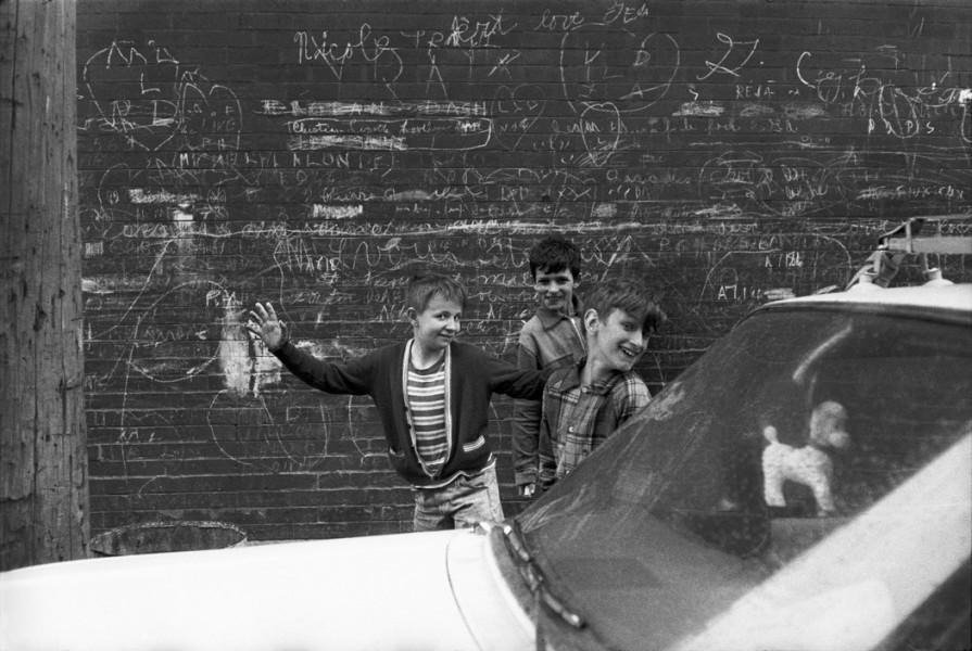 """Three Juveniles"", Montreal, Canada, 1965."