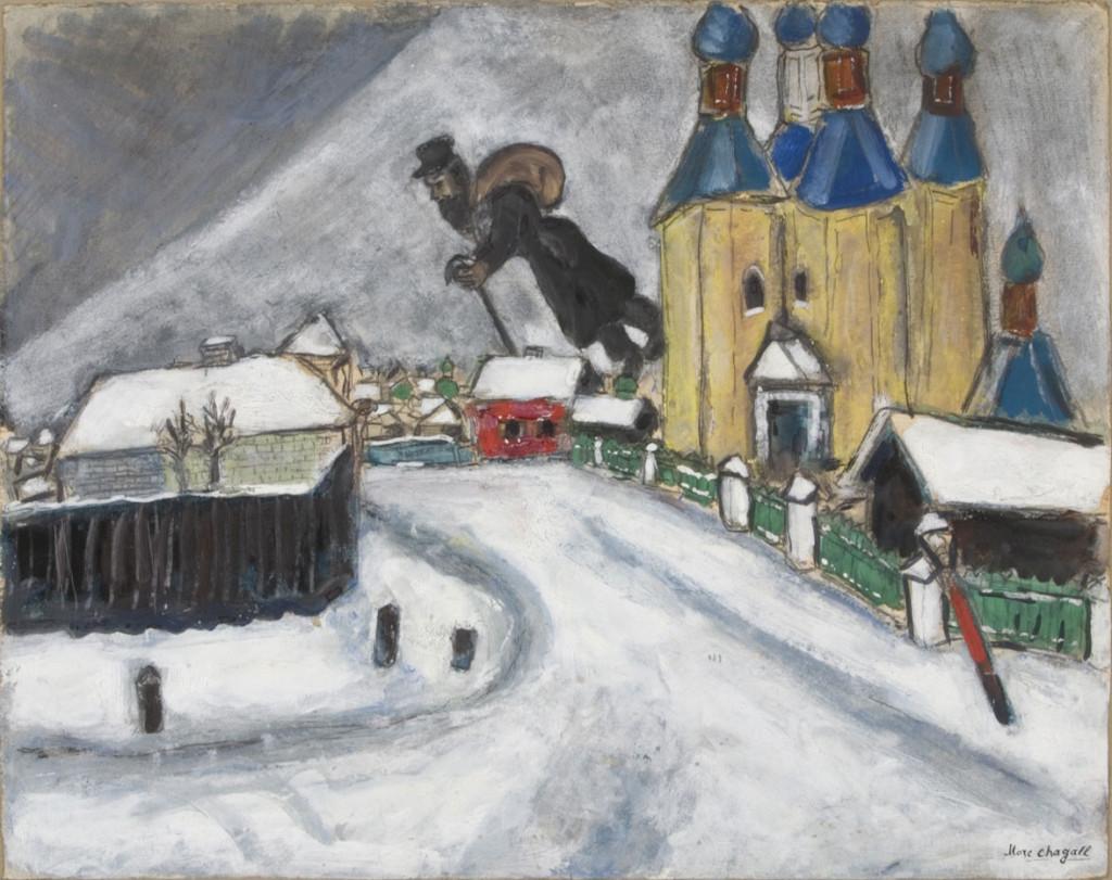 """Sopra Vitebsk"", 1914."
