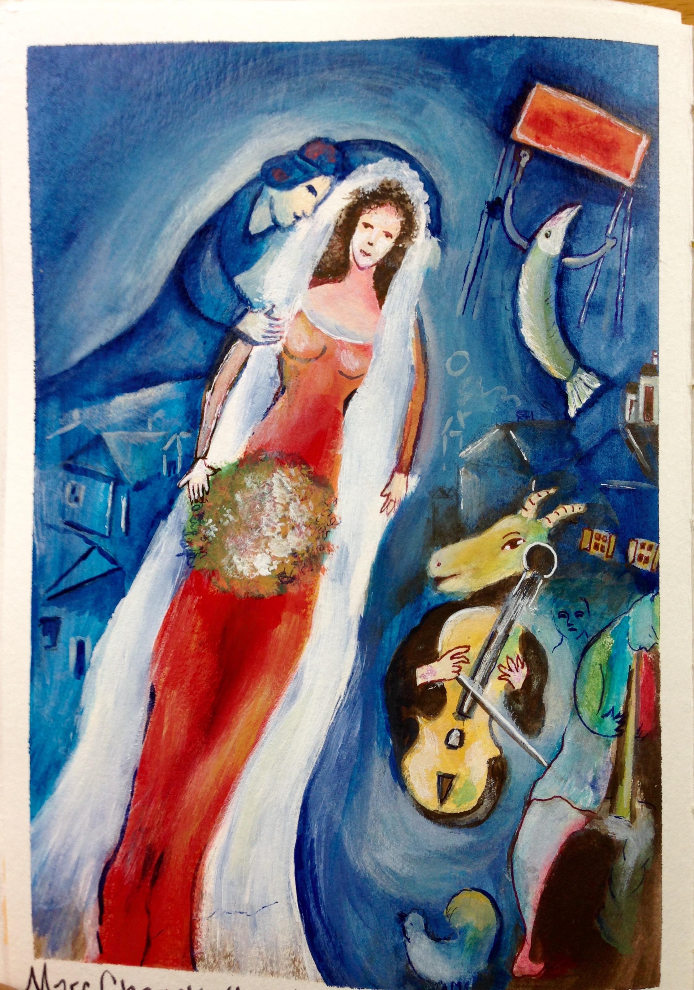 Marc Chagall, biografia, opere e citazioni Chagall Afbeeldingen