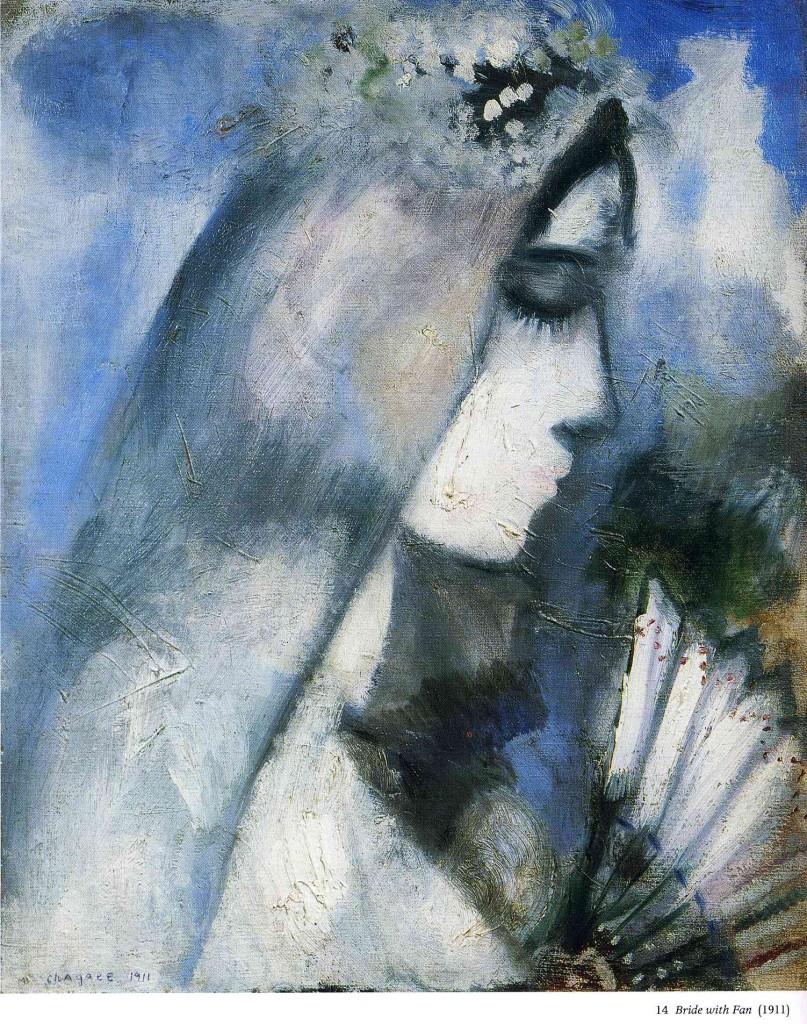 """""""Sposa con ventaglio"""", 1911."""