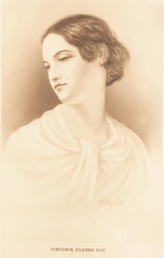 Ritratto di Virginia Clemm.