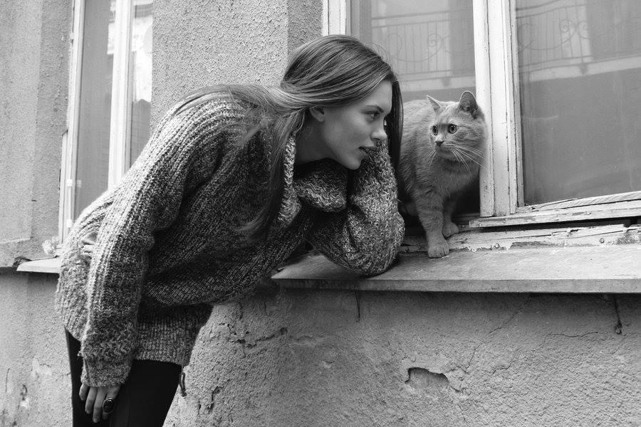 """Il tempo speso coi gatti non è mai sprecato."""" _ Colette _ (foto di Milda-Koles)"""