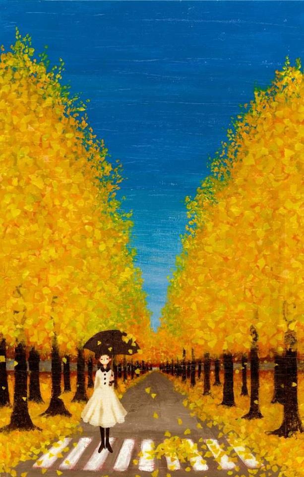 """Non sopporto più le persone che mi annoiano anche pochissimo e mi fanno perdere anche un solo secondo di vita."""" _ Goffredo Parise _ """"Autumn Yellow, Tashika Yui)"""