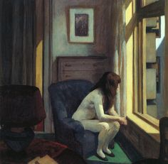 """Chair Car"", 1965 - Edward Hopper"