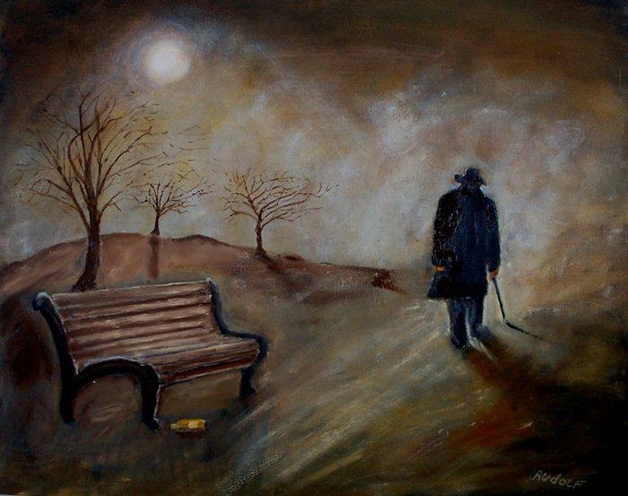 """Loneliness"", dipinto di Rudolf Brink"