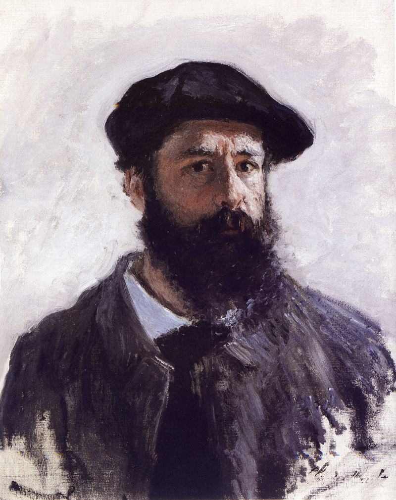 Autoritratto di Claude Monet, 1886