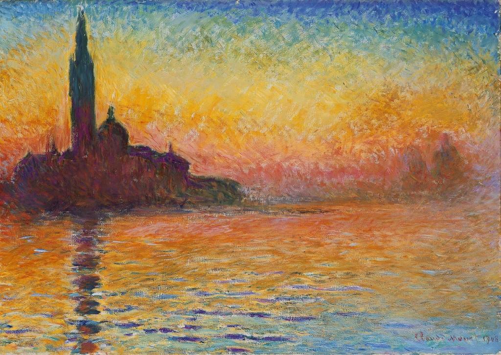 """""""San Giorgio Maggiore al crepuscolo"""", 1908"""