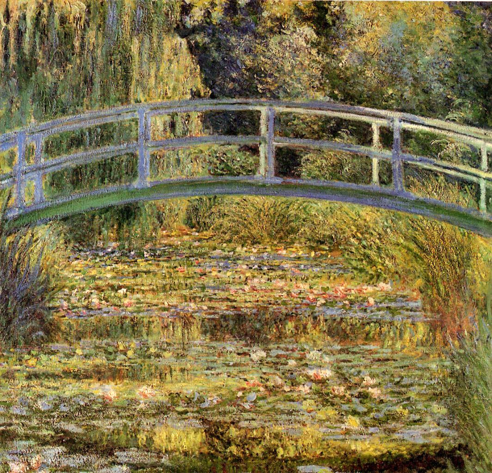 """Water Lily Pond"", 1900"