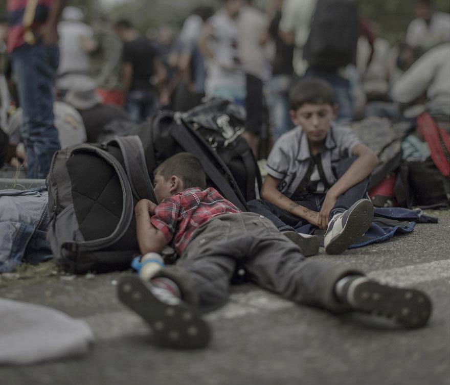 Ahmad, 7 anni, Horgos / Röszke (tra Ungheria e Serbia)