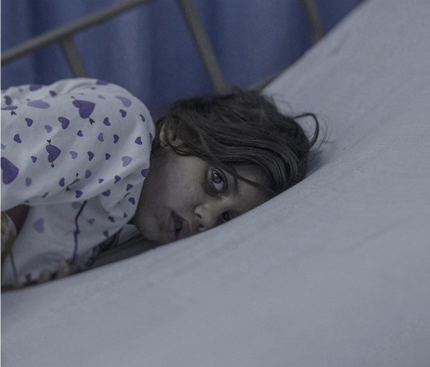 Maram, 8 anni, Amman, Giordania.