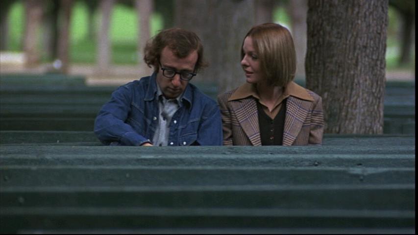 """""""Provaci ancora, Sam"""" (1972). Woody Allen e Diane Keaton."""