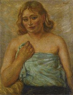 """""""Ritratto di Isabella in posa da modella """", 1930"""
