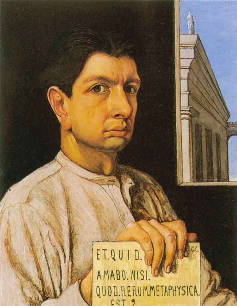 Giorgio De Chirico, 1920 - Autoritratto.