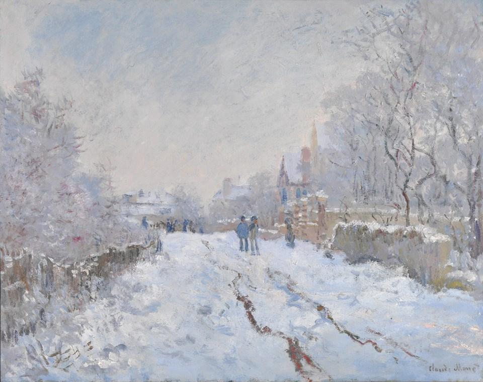 Se c'è sulla terra e fra tutti i nulla qualcosa da adorare, se esiste qualcosa di santo, di puro, di sublime, qualcosa che assecondi questo smisurato desiderio dell'infinito e del vago che chiamano anima, questa è l'arte. Gustave Flaubert (Neve ad Argenteuil di Claude Monet)