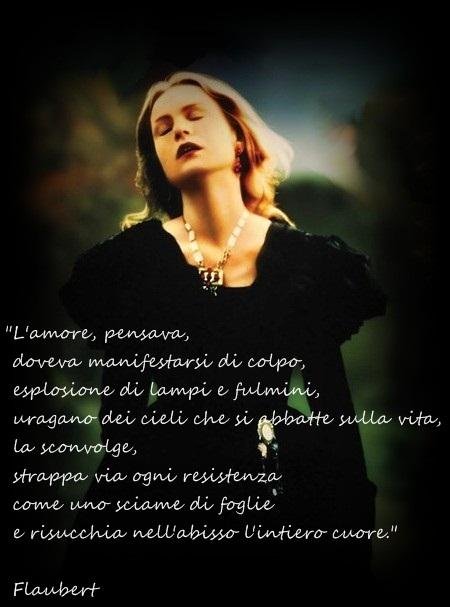 Isabelle Huppert nel ruolo di Madame Bovary