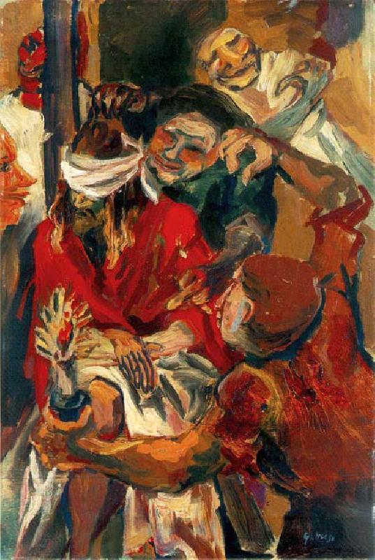"""""""Cristo deriso"""", 1938."""