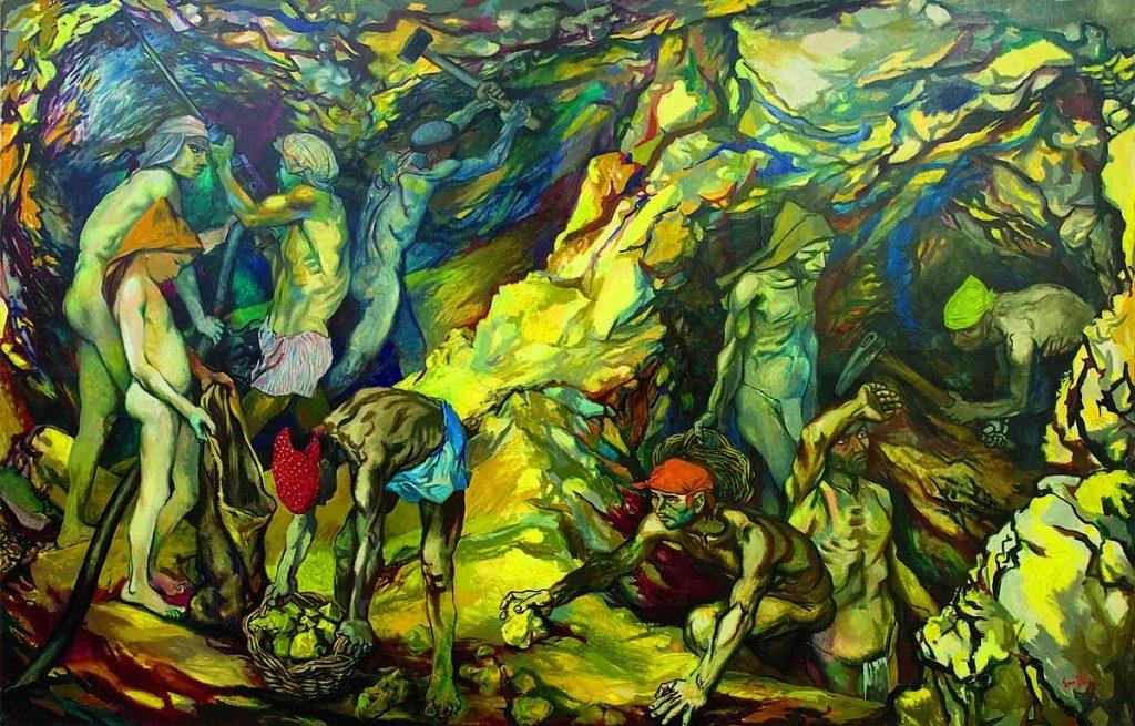 """""""La Zolfara"""", 1953."""