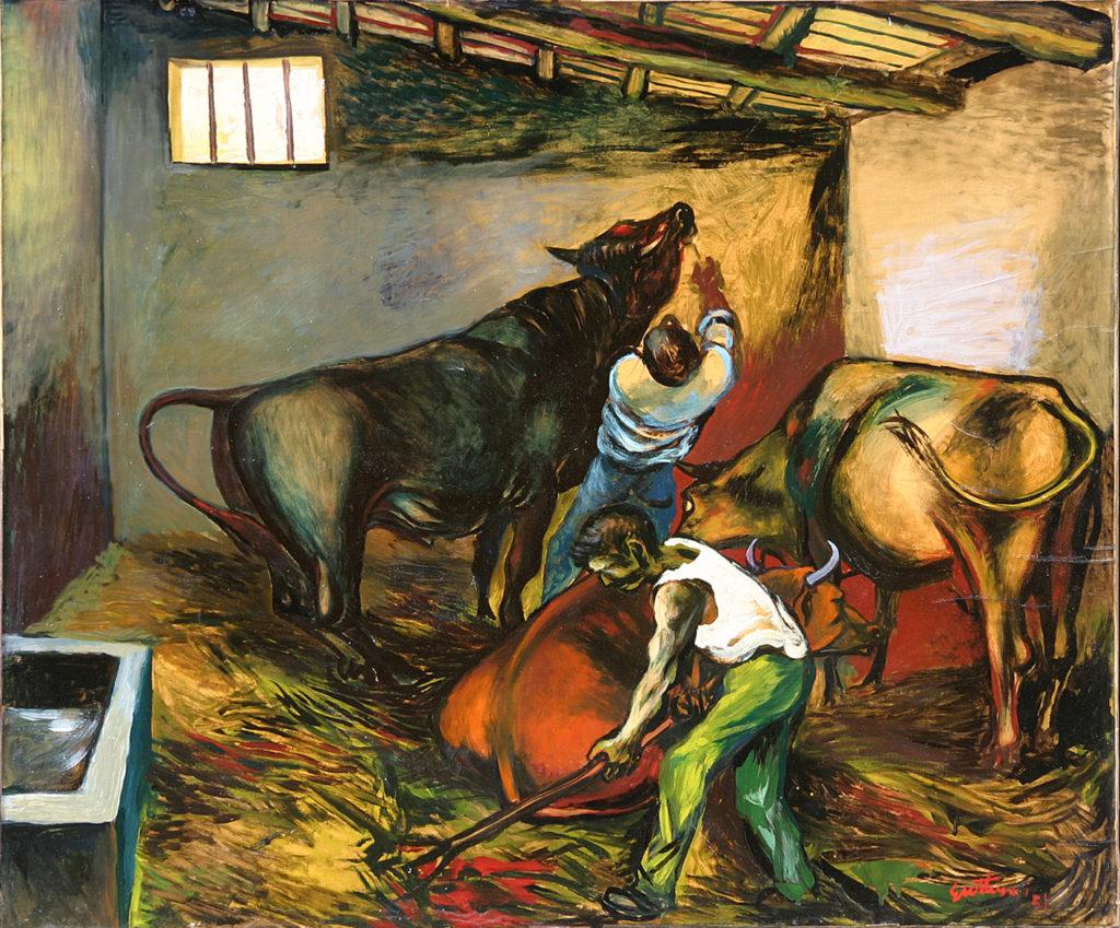 """""""La stalla"""", 1951."""