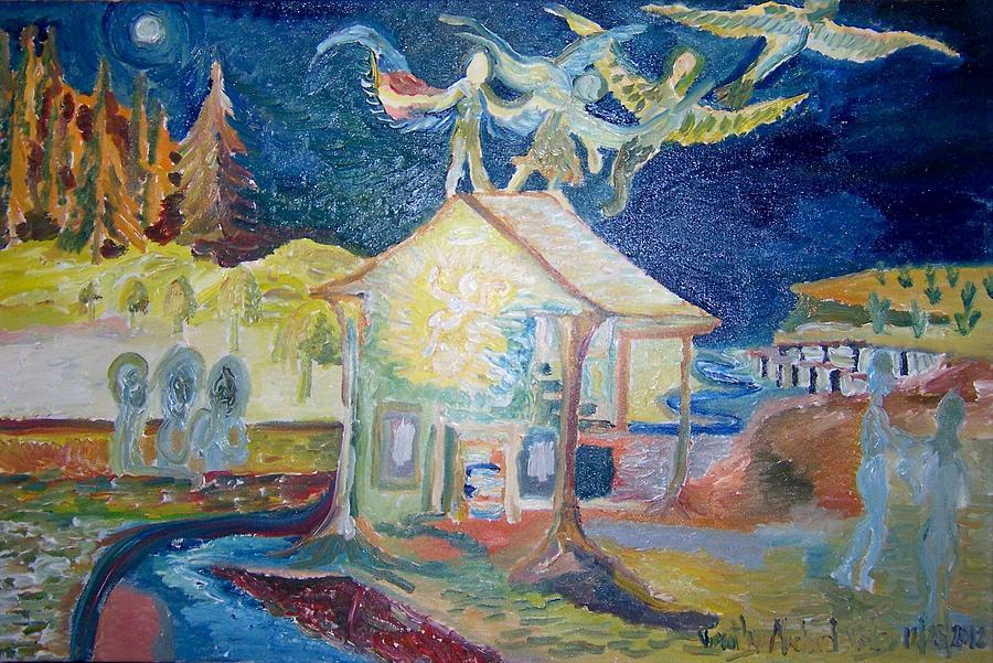 """""""The Nativity Of Jesus Christ"""" by Timothy Foley."""