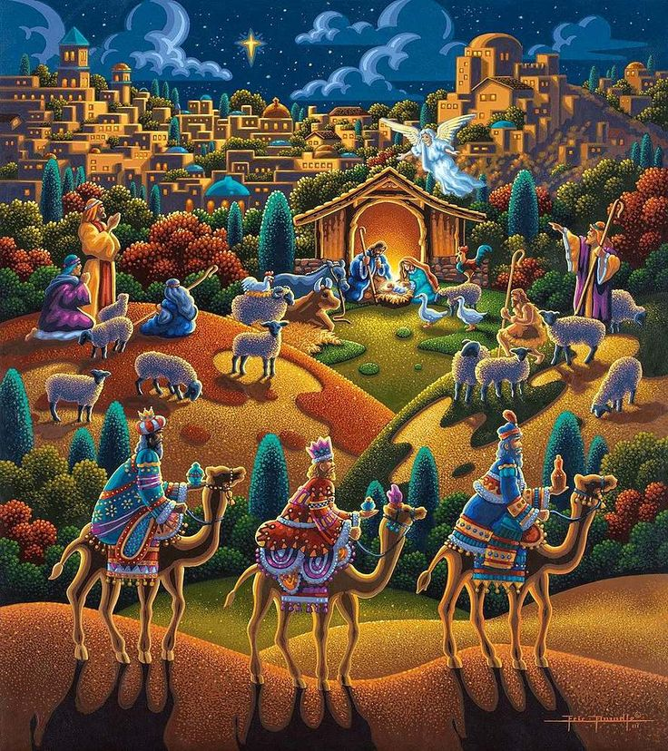 Nativity: Folk Art, Jigsaw Puzzle