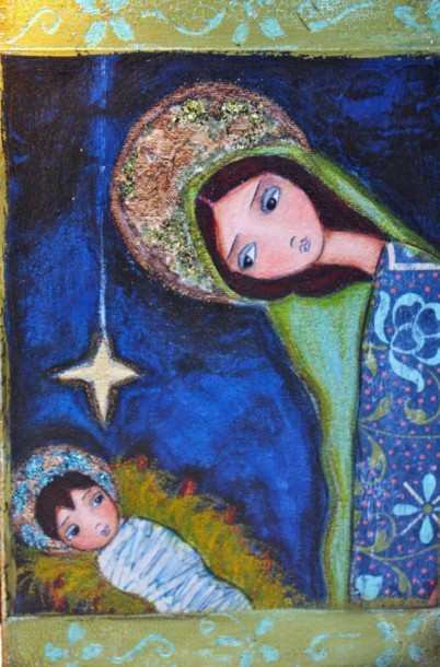 """Nativity"" by Valerie Atkisson"
