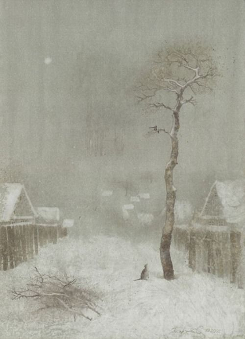 """Winter"", Sergey Pisarenko."