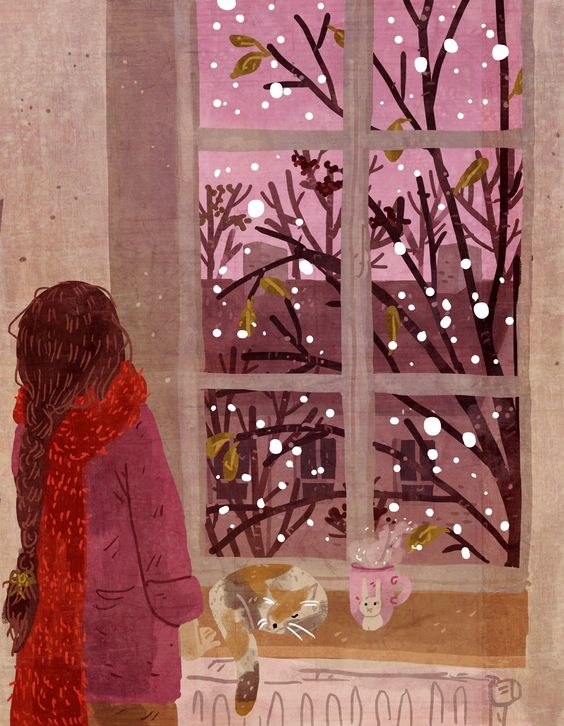 """Waiting for the first snow"", Lara Paulussen."