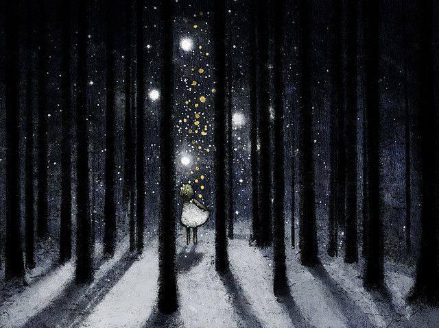 I poeti lavorano di notte quando il tempo non urge su di loro, quando tace il rumore della folla e termina il linciaggio delle ore. I poeti lavorano nel buio come falchi notturni od usignoli dal dolcissimo canto e temono di offendere Iddio. Ma i poeti, nel loro silenzio fanno ben più rumore di una dorata cupola di stelle. _ Alda Merini _ Immagine reperita nel web