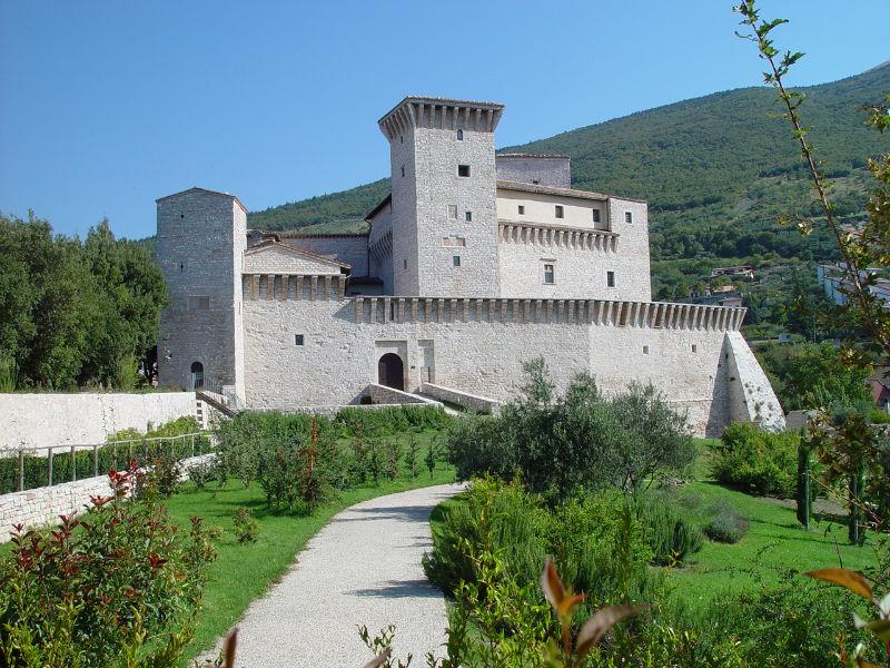Museo Civico Rocca Flea di Gualdo Tadino, Perugia.