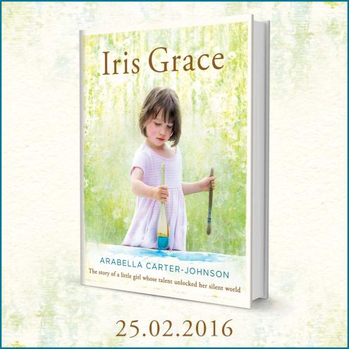 La copertina del libro dedicato ad Iris Grace. edito dalla Penguin Books.