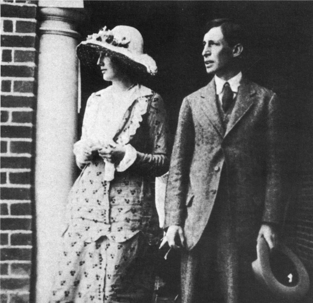 Virginia Stephen e Leonard Woolf in una foto del 1912.