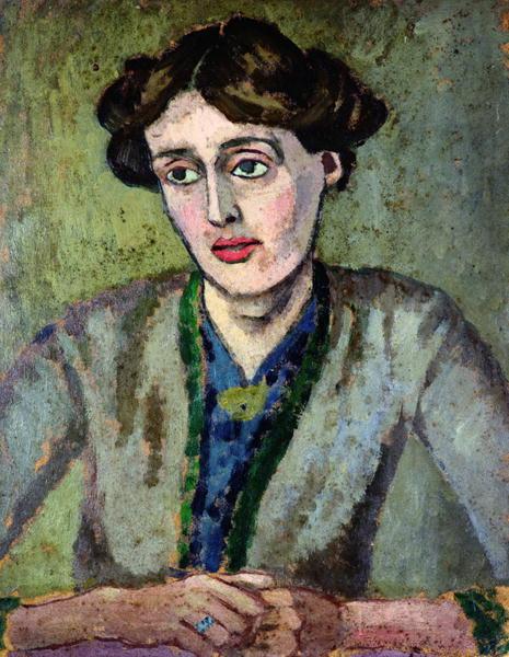 Ritratto di Virginia Woolf realizzato da Roger Fry nel 1917.
