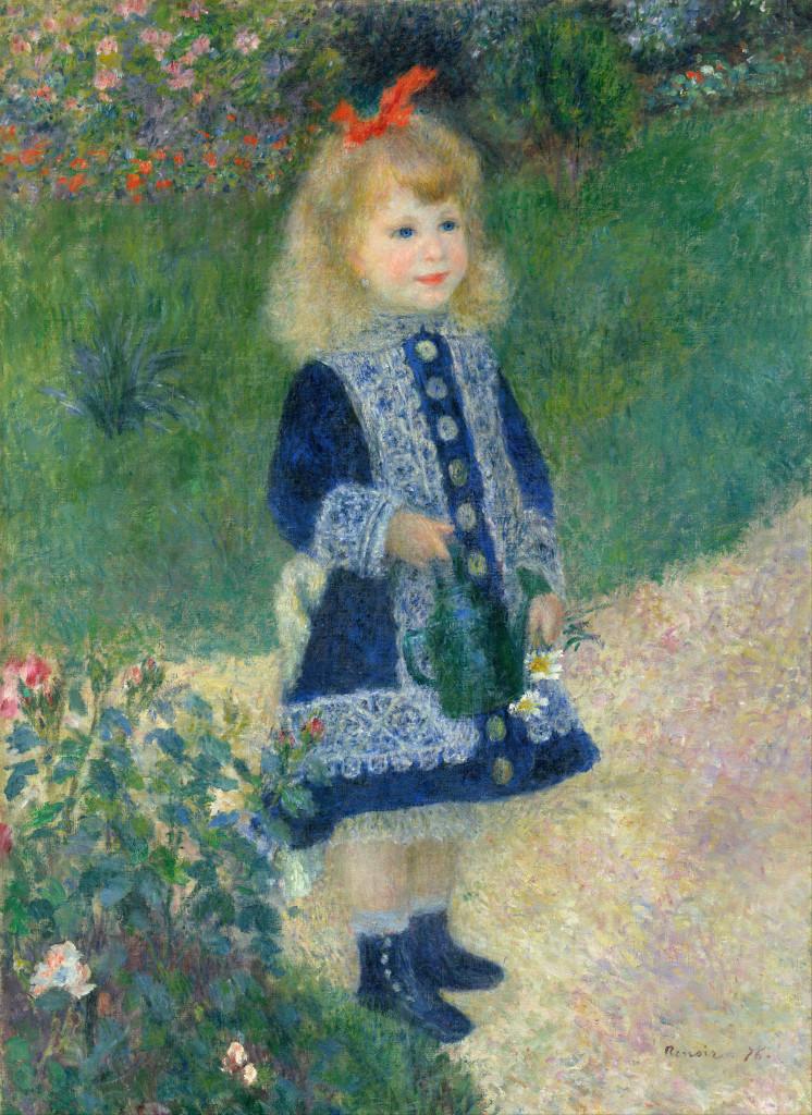 """""""Bambina con l'innaffiatoio"""", 1876"""