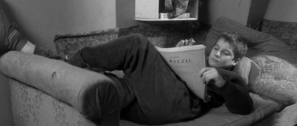 """Una scena del film capolavoro di Truffaut """"I quattrocento colpi"""", 1959."""