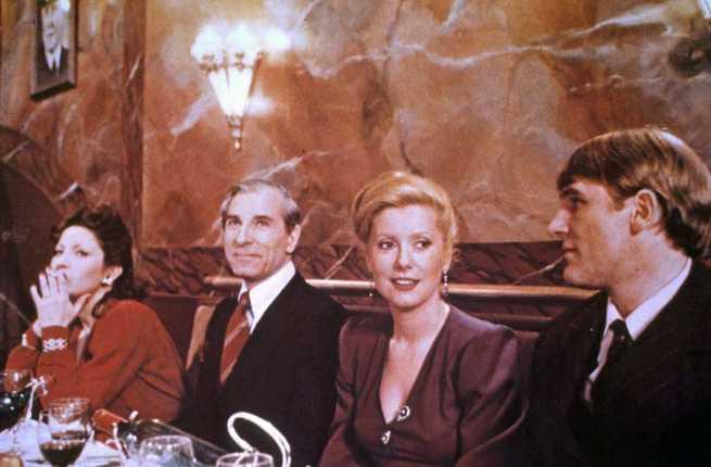 """Una scena del film """"L'ultimo metrò"""" (1980)."""