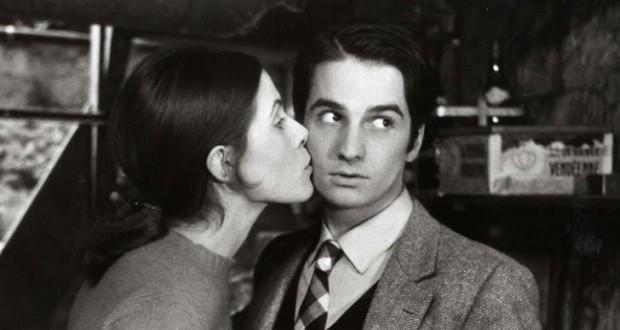 """Una scena del film """"Baci rubati"""", 1968."""