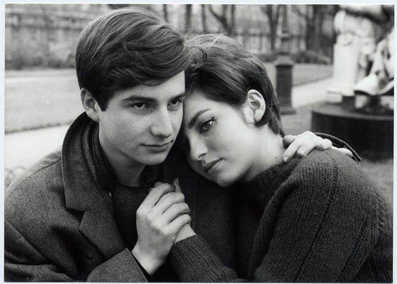 """Una scena di """"Antoine et Colette"""", episodio del film """"L'amore a vent'anni"""" del 1962."""