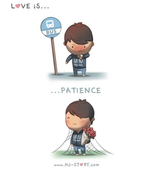 """""""L'amore è... ...pazienza""""."""