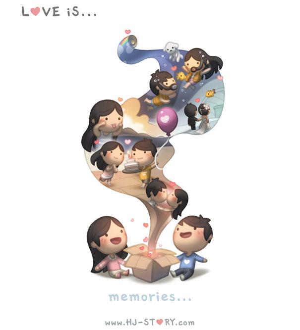 """""""L'amore... un insieme di ricordi."""""""