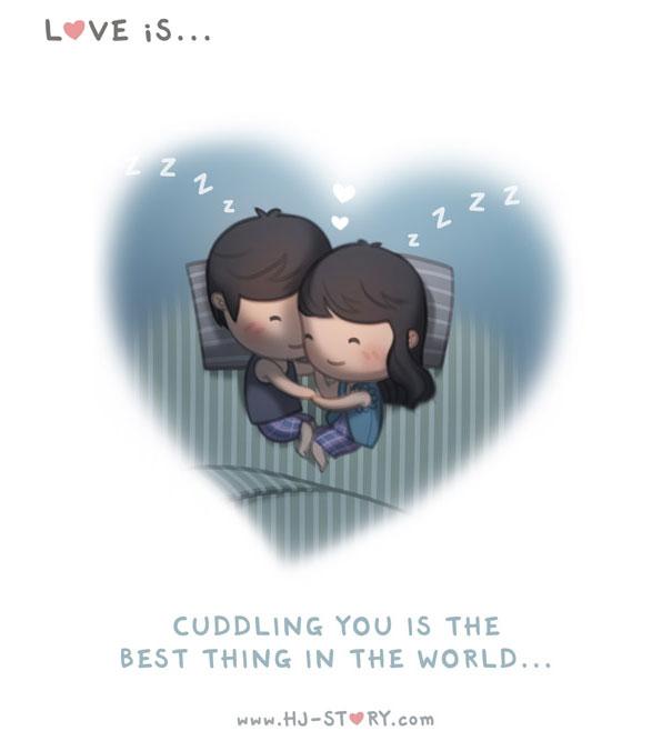"""""""L'amore ... coccolarti e la cosa piu bella del mondo."""""""